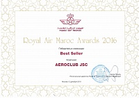 Royal Air Maroc Awards 2016